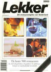 Ranglijst Lekker 2003