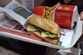 McDonald's Frankrijk test McBaguette
