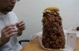 Man bestelt Whopper met 1.050 plakken spek