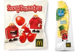 McDonald's biedt meer gezonde keuzes in Happy Meal