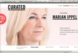 Curated.nl: Marjan Ippel verstuurt fooditems aan abonnees