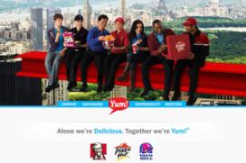 Omzetstijging YUM! Brands: KFC +5 procent