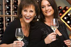 Wijnwinkel voor Thérese Boer en Astrid Joosten
