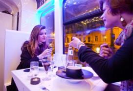 Luxe maaltijden tijdens rondrit in tram
