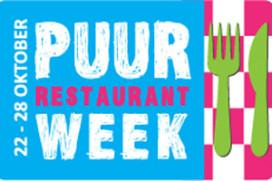 Inschrijving tweede Puur Restaurant Week gestart