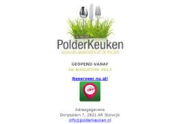 Frank Streefland nieuwe eigenaar Polderkeuken