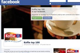 Publieksprijs voor populairste zaak Koffie Top 100