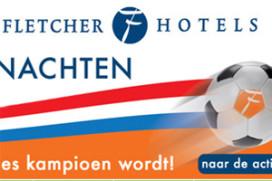 Gratis slapen bij Fletcher als Oranje EK wint