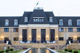 Vlag Golden Tulip op hotels Gerard van den Tweel