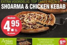 Domino's Pizza haalt plofkip van pizza