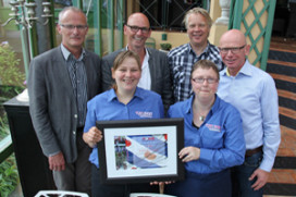 Tour Culinair: 1500 euro voor Fries goed doel