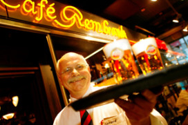 Internationale luchtvaartprijzen HMSHost en Café Rembrandt