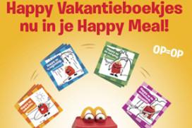 McDonald's stimuleert 'bewegen' met vakantieboekjes