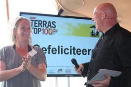 Hoge noteringen voor nieuwkomers Terras Top 100