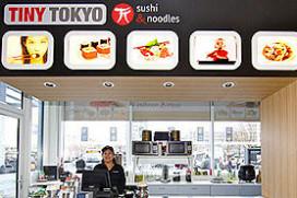 Sushi shops Tiny Tokyo gesloten