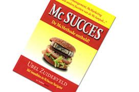 Boek: waarom McDonald's slaagt waar anderen falen
