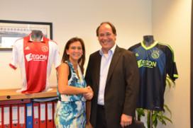 Ajax en Jupiler sluiten overeenkomst
