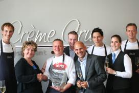 Crème Crue wint Iens Diner Dagen