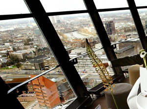 Horecaondernemer Willem Tieleman start make-over Euromast restaurant