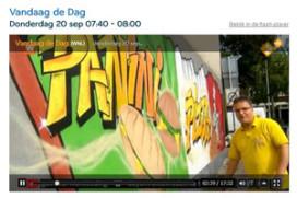 Boete van vijfduizend euro voor muurschildering