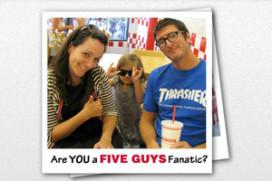 Five Guys favoriete hamburgerketen Amerikanen