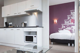 Hotel met appartementen in Amsterdam