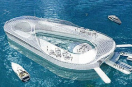 Duitser bedenkt hotel dat kan varen en duiken