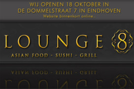 Aziatisch restaurant Lounge 8 opent in Eindhoven