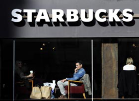 Starbucks draait sterkste kwartaal ooit