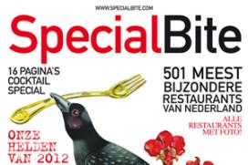 Geen restaurantgids SpecialBite in 2012