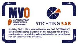 SAB Catering beloont tip met €1000