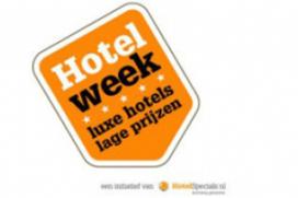 Recordaantal hotels doet mee aan actieweek