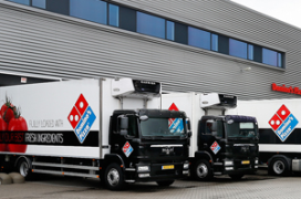 Domino's Pizza verwerft Lean and Green Award