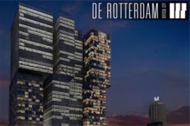 Hoogste punt nieuw onderkomen NH-hotel Rotterdam
