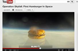 Bijzondere video: hamburger maakt ruimtereis