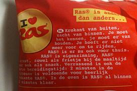 Reuring om Ras-patat in supermarkt