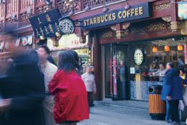 Starbucks op honderd vestiging in Beijing