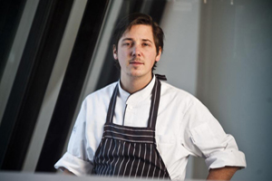 Niven Kunz* in pop-up restaurant Amsterdam