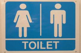 Negatieve reviews restaurant via luidsprekers toilet