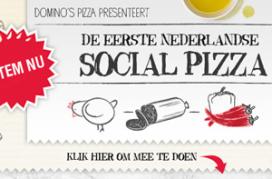 Domino's bouwt 'social pizza' met gasten