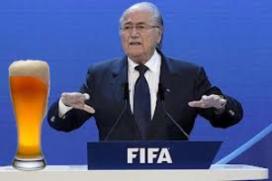 Blatter wil alcohol weren uit stadions