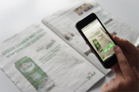 Grolsch zet augmented reality in bij 3FM Serious Request