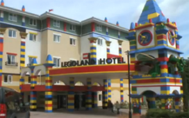 Legoland opent hotel in California
