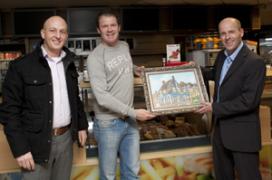 Cafetariatoppers vereeuwigd op schilderslinnen
