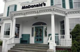 McDonald's in ruim 200 jaar oude mansion