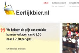 KHN start platform Eerlijk Bier