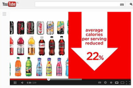 Coca Cola bespreekt obesitas in reclamespot