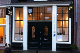 Wervingsbureau door met Amsterdams restaurant
