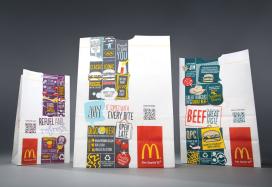 Nieuwe verpakkingen McDonald's met QR-code voor extra info
