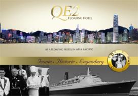 Queen Elizabeth 2 wordt hotelboot